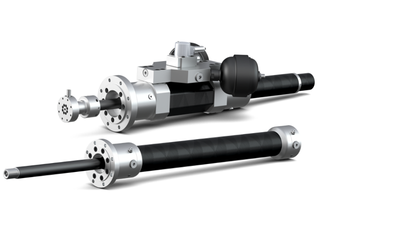 Carbon Fiber Rods >> H-CFRP® lightweight hydraulic cylinders | Hänchen's innovation made of carbon