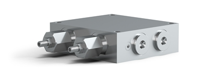 Control block ist Used when Ratio-Clamp® is installed on a cylinder.